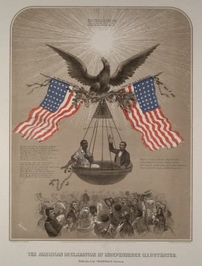 American Declaration of Independence Illustrated