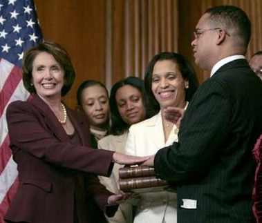 Congressman Ellison's oath on the Qur'an owned by Thomas Jefferson