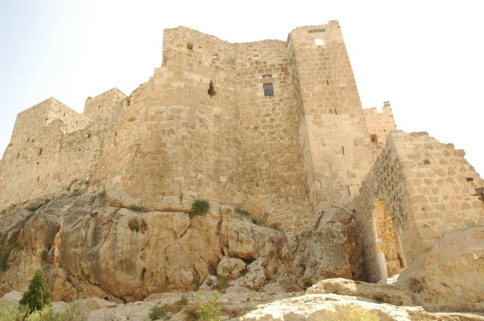 Masyaf Castle near Salamiyya, Syria.