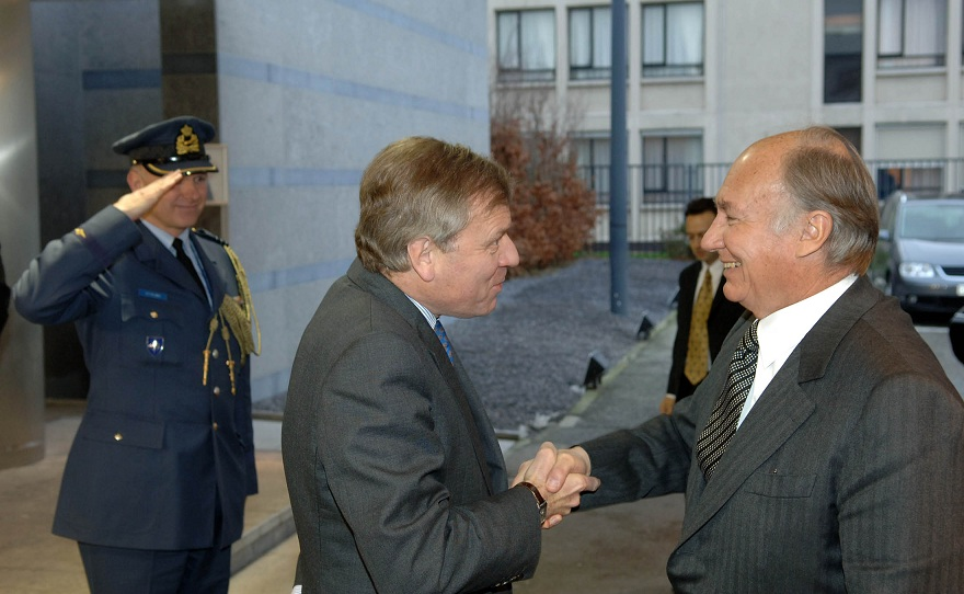 Visit to NATO by the Aga Khan - 22 January 2007