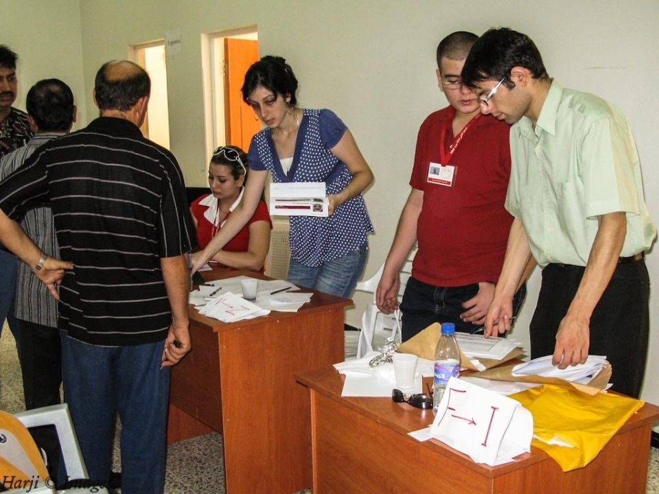 Ismaili Volunteers in Salamiyya, Syria