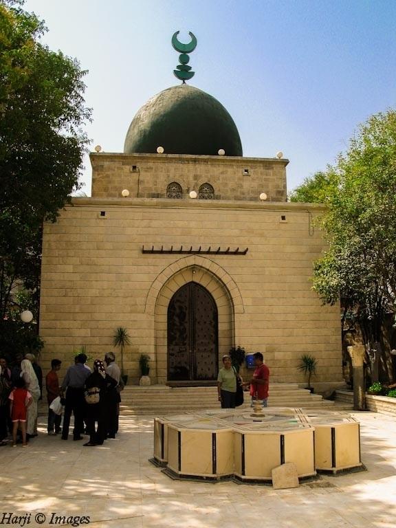 Prince Aly Khan Mausoleum in Salamiyya, Syria