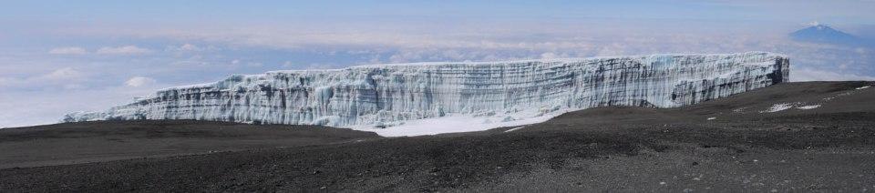 Kilimanjaro's southern icefields