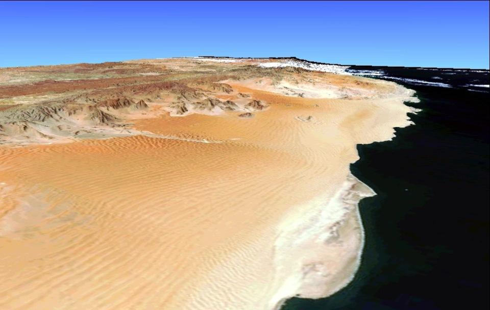 Namibia Coastal Desert