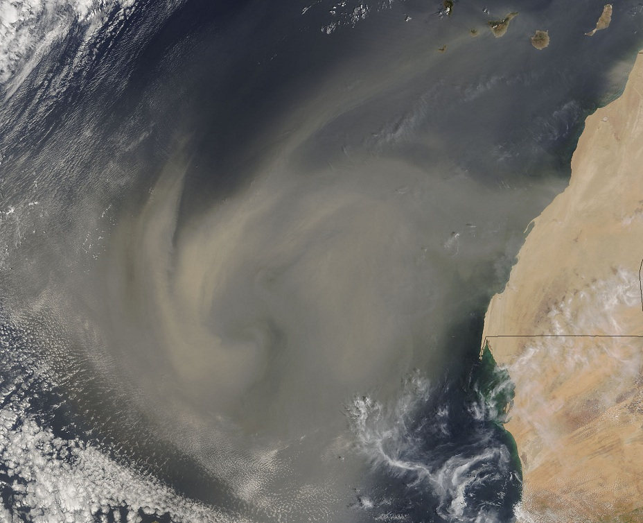 West Africa Duststorm