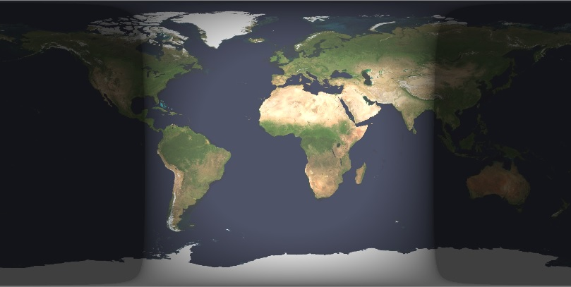 Earth Cylindrical Projection 2013-03-21 0012UT