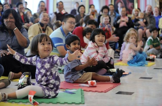 2013 Storytime at Rideau Hall