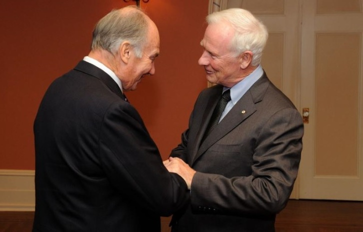 The Governor Genral of Canada with His Highness the Aga Khan