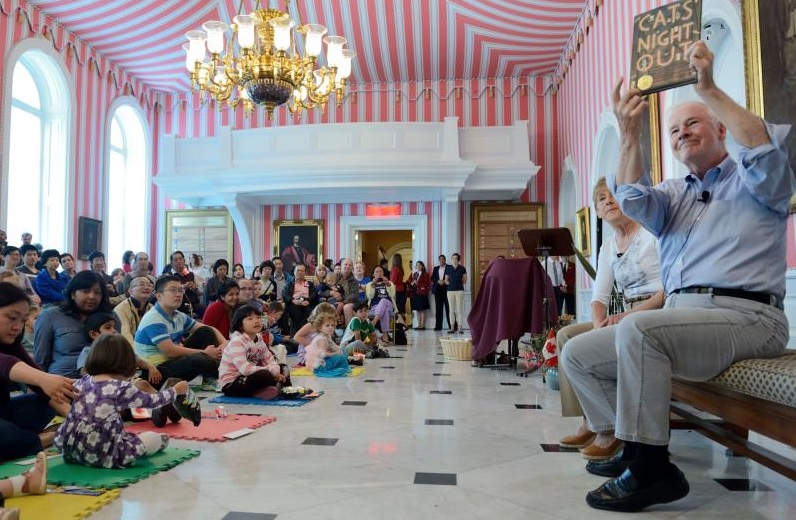 2013 Storytime launch at Rideau Hall