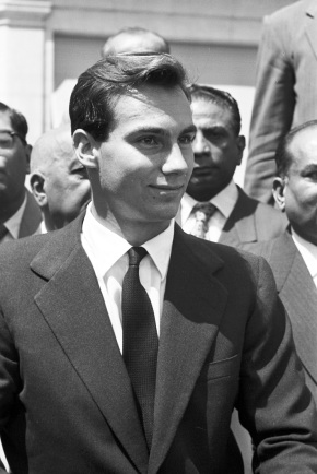 A portrait of Prince Karim Aga Khan IV during his enthronement in Geneva, Switzerland after his grandfather, His Highness the Aga Khan III, passed away on July 11, 1957. Photo by Philippe Le Tellier/Paris Match via Getty Images. Copyright. Please click on image for enlargement.