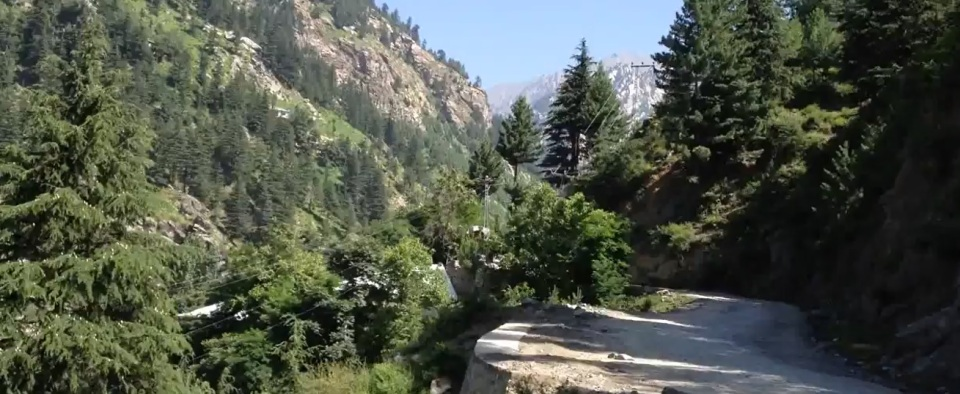 Chitral Mountain Road