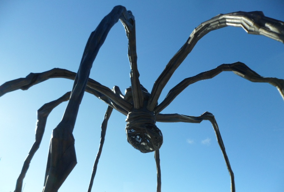 The Maman statue, National Art Gallery of Canada