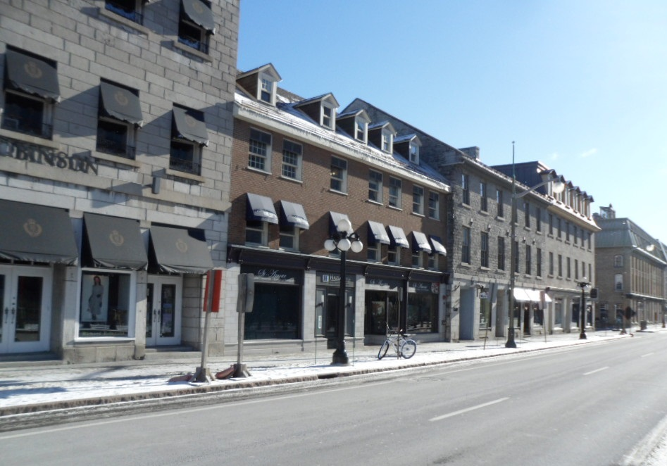Specialty stores on Sussex Drive, Ottawa