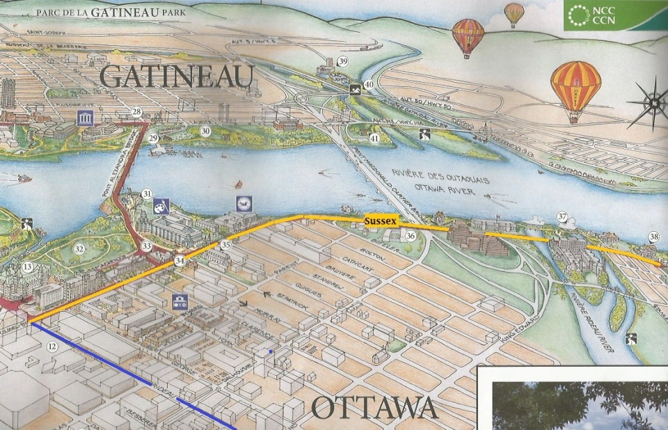 Sussex Drive Map for Simergphotos