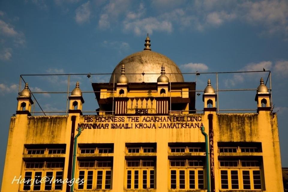 Myanmar Jamatkhana Exterior Closeup