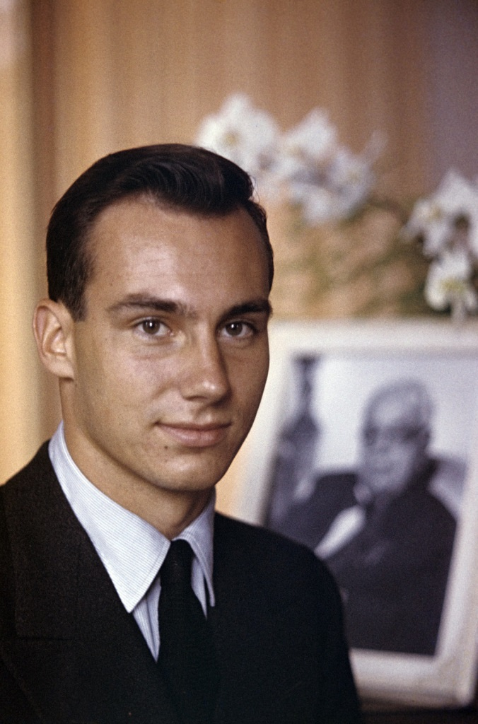The New Prince Karim Aga Khan Iv In Switzerland After The Death Of The Aga Khan Iii