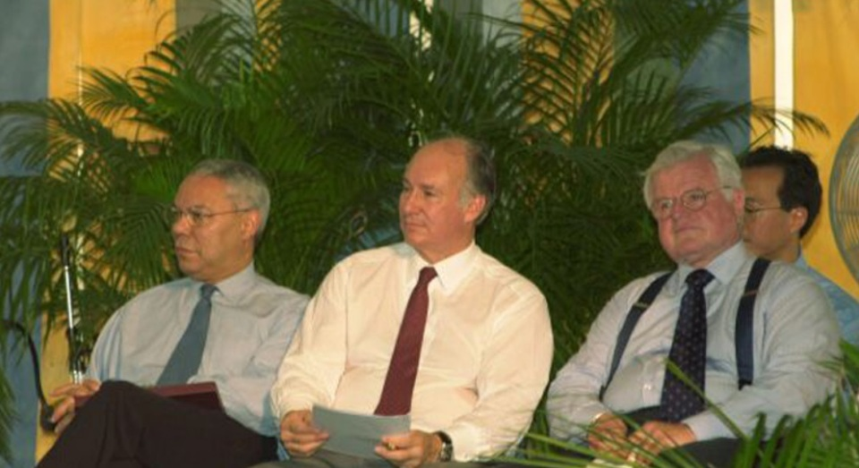 Aga Khan at Simitsonian Folklife Festival 2002 003