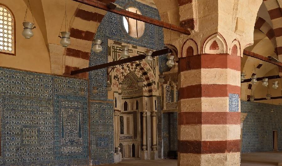 005 Aga Khan 2015 Egypt Blue Mosque