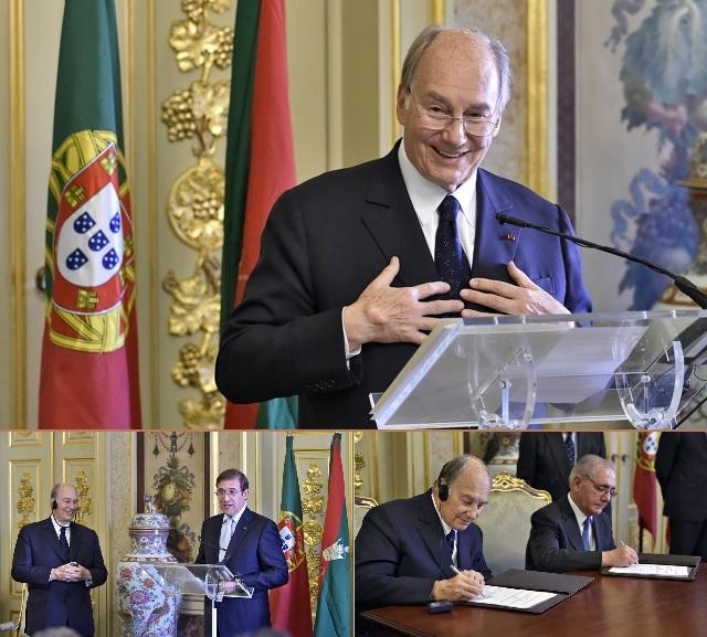 007 Aga Khan 2015 Portugal Seat of Imamat