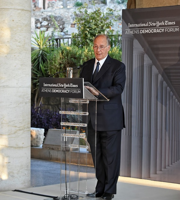 009-2 Aga Khan 2015 Athens Democracy Forum