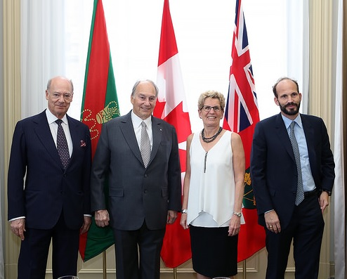 016-00 Aga Khan 2015 Government of Ontario Agreement