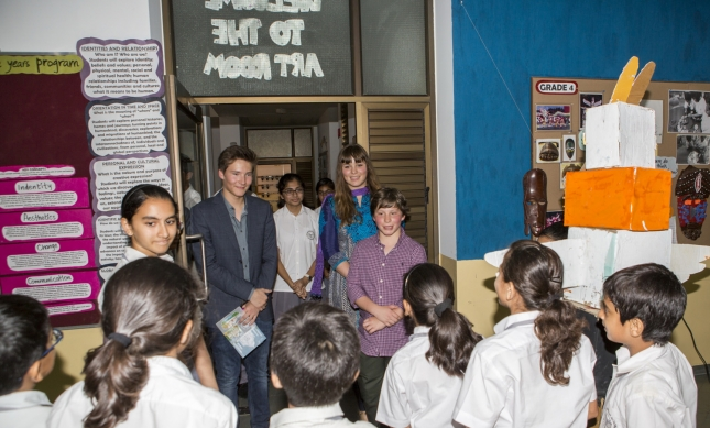 017-05 Aga Khan 2015 India Visit Academy