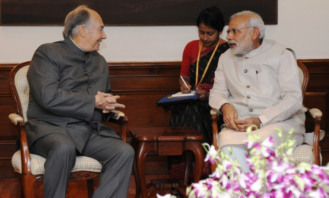 017-07 Aga Khan 2015 India Visit PM Modi