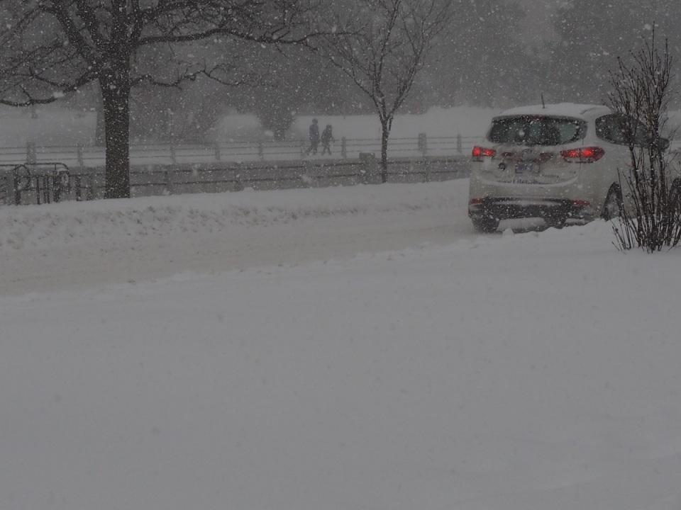 Ottawa Winter December 29, 2015