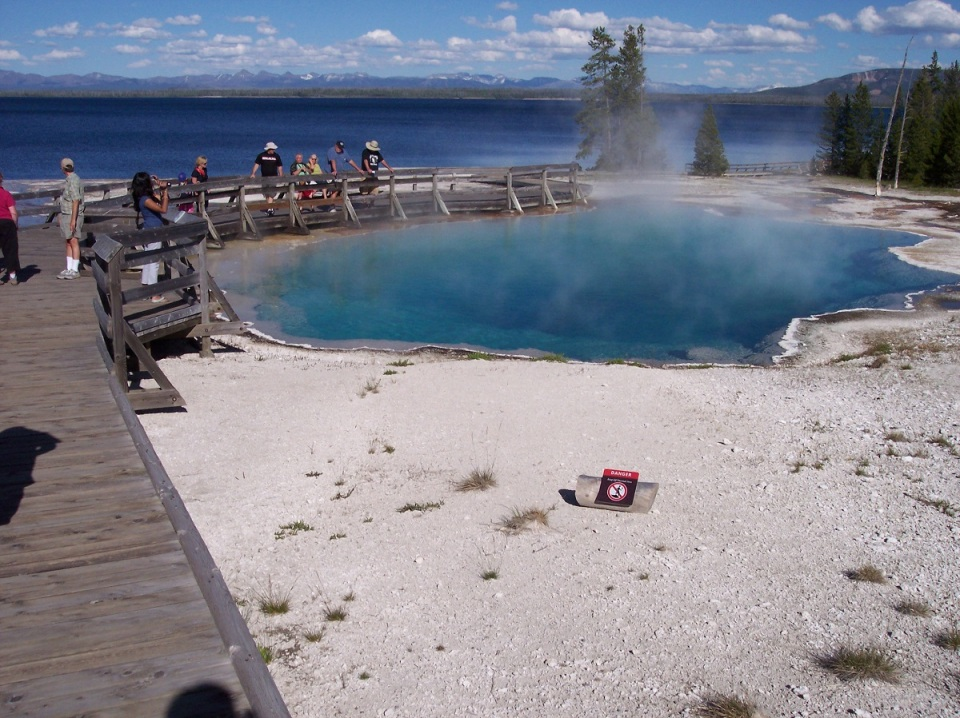 Nurin Merchant Yellowstone National Park