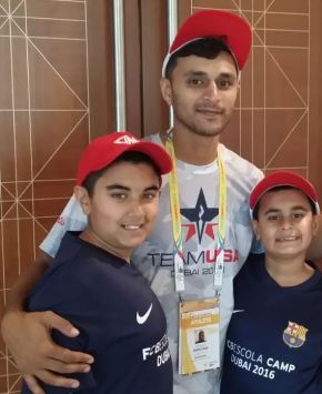 Feature Image - Brothers Qayl and Riyaan with Adnan Dahlvani in the middle