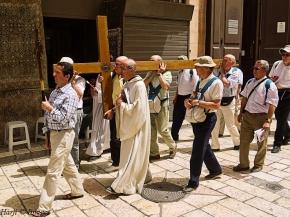 Easter Procession Route Jerusalem Simergphotos Mulsim Harji