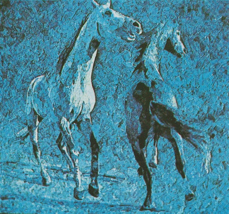 horses-by-gulgee-lapis-lazulli-precious-stone