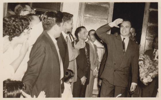 018a Prince Aly Khan Mozambique Visit 1958