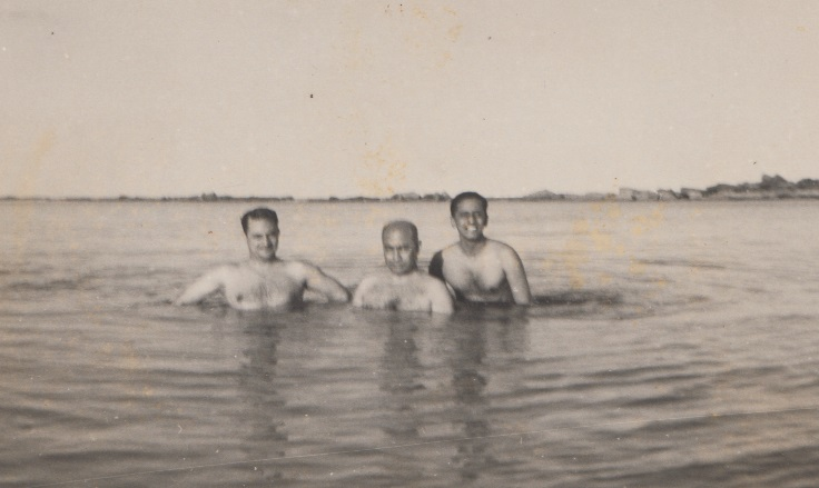 026 Jehangir Abually and Mukhi swimming