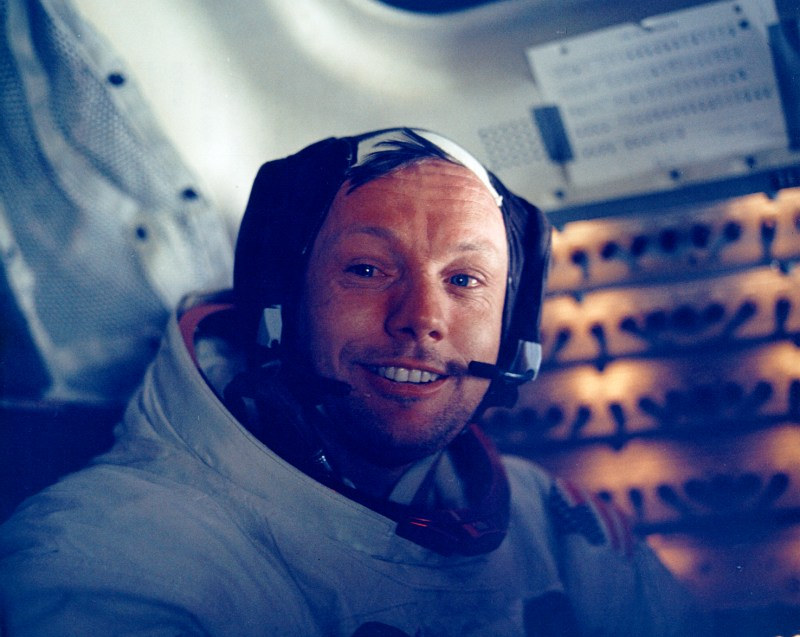 5528_Apollo 11 astronaut Armstrong's photo after moon landing