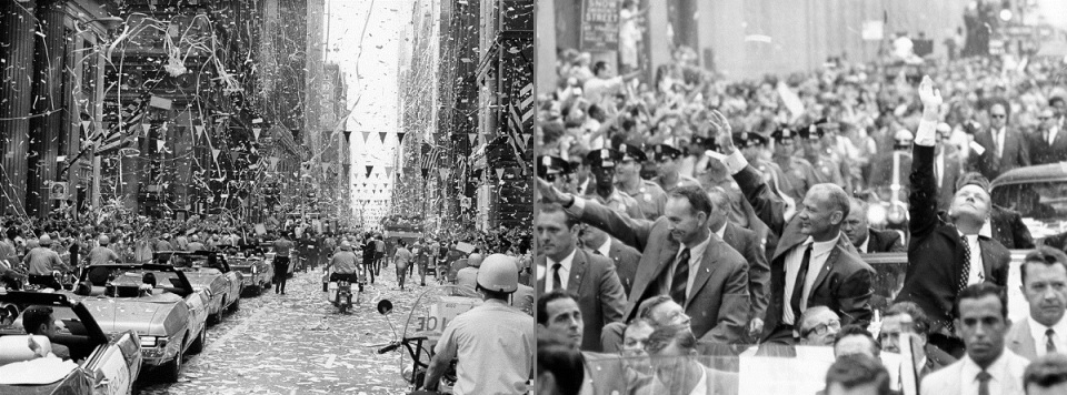 ap11-69-H-1426_Chicago and New York welcome the Apollo 11 crew with a ticker tape parade