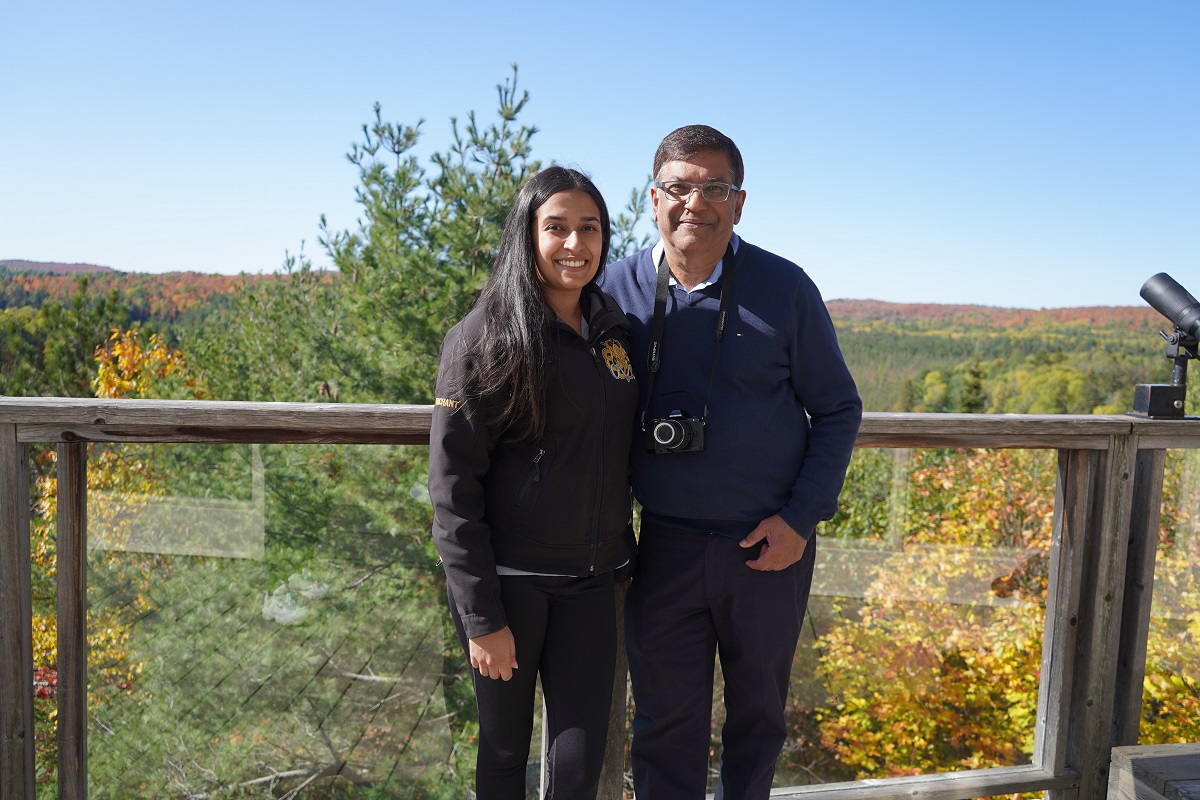 Algonquin Park visitor centre, Malik and Nurin Merchant
