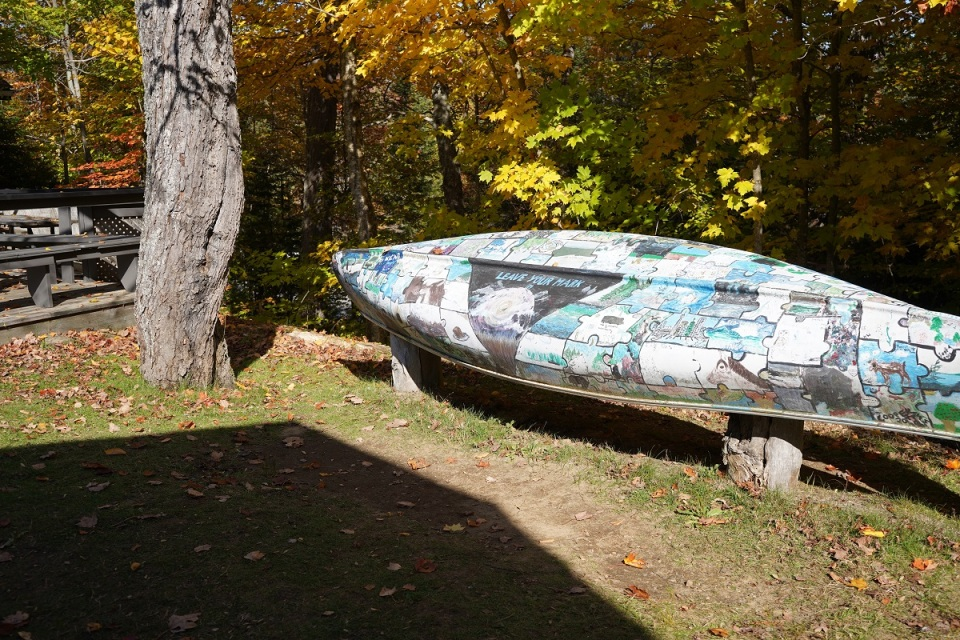 Algonquin Art Centre, Algonquin Park, Ontario, Canada, Autumn 2019