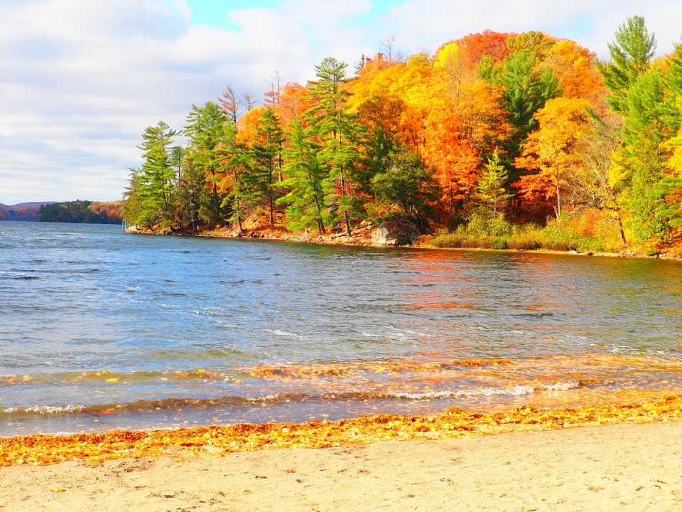 O'Brien Beach, Meech Lake, Gatineau Park