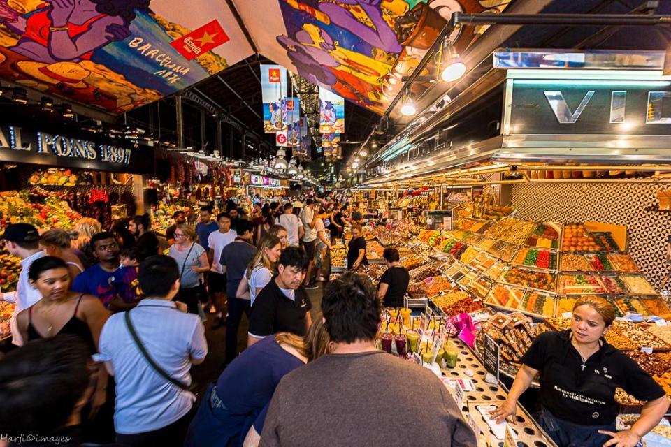 La Boqueira Market