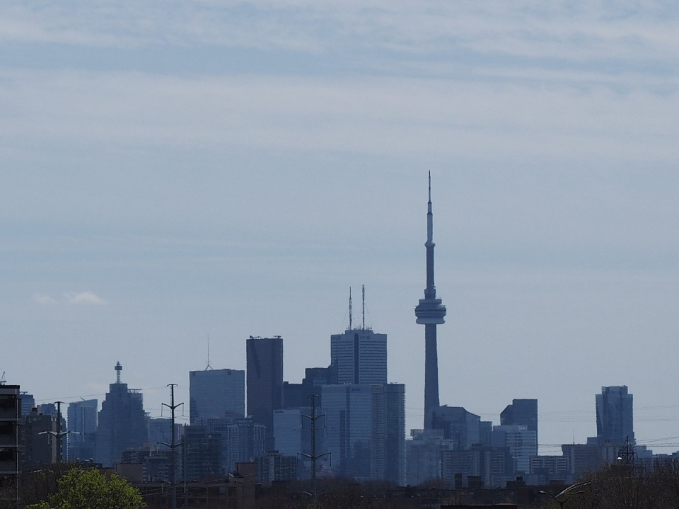 Downtown Toronto from Aga Khan Park, Simergphotos, Malik Merchant