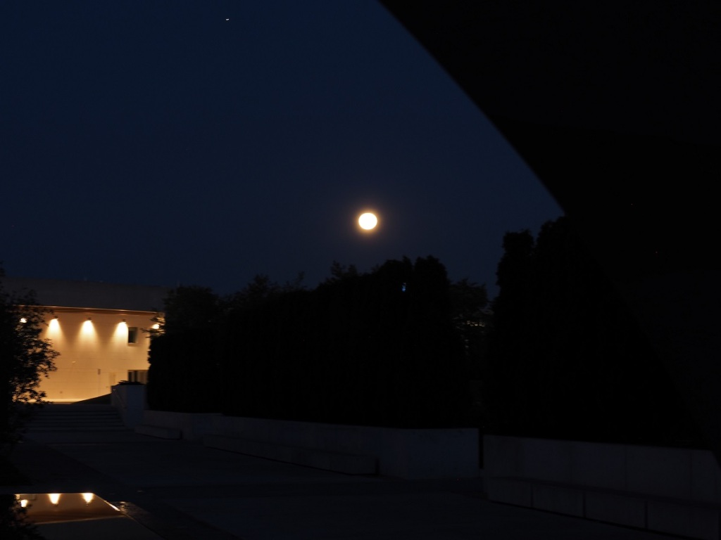 Full moon, Ismaili Centre, Simerg