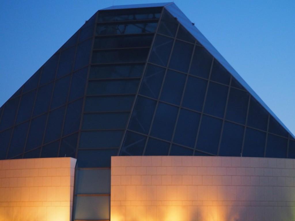 9:09 -10:40 PM: The dome of the Ismaili Jamatkhana located at the Ismaili Centre Toronto; photo taken July 23, 2020. Photo: Malik Merchant /