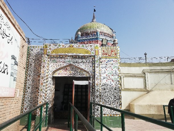 Ismaili Pir Shams Mausoleum in Multan Pakistan Simerg and Simergphotos