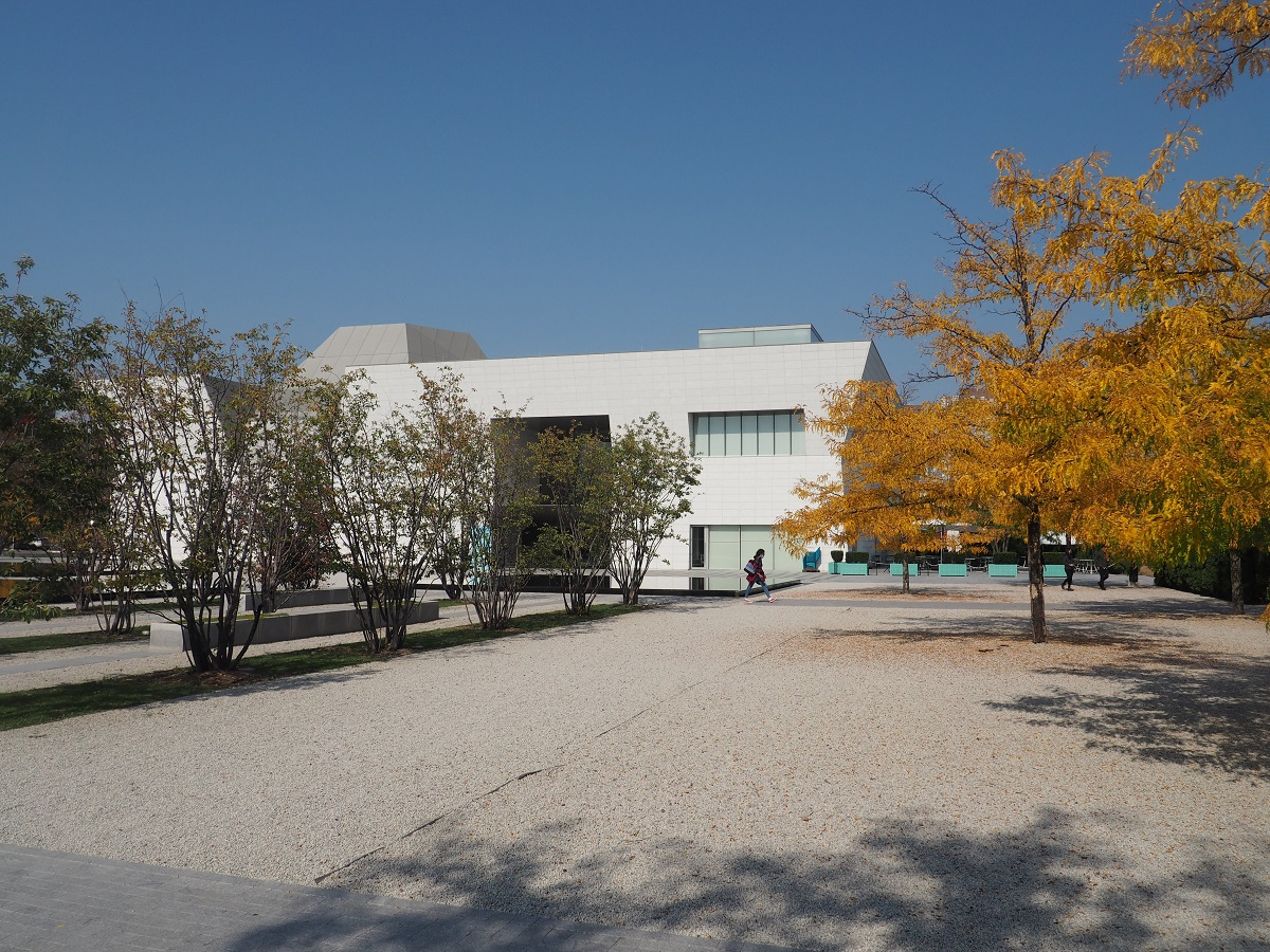 Aga Khan Park Fall colours and Aga Khan Museum