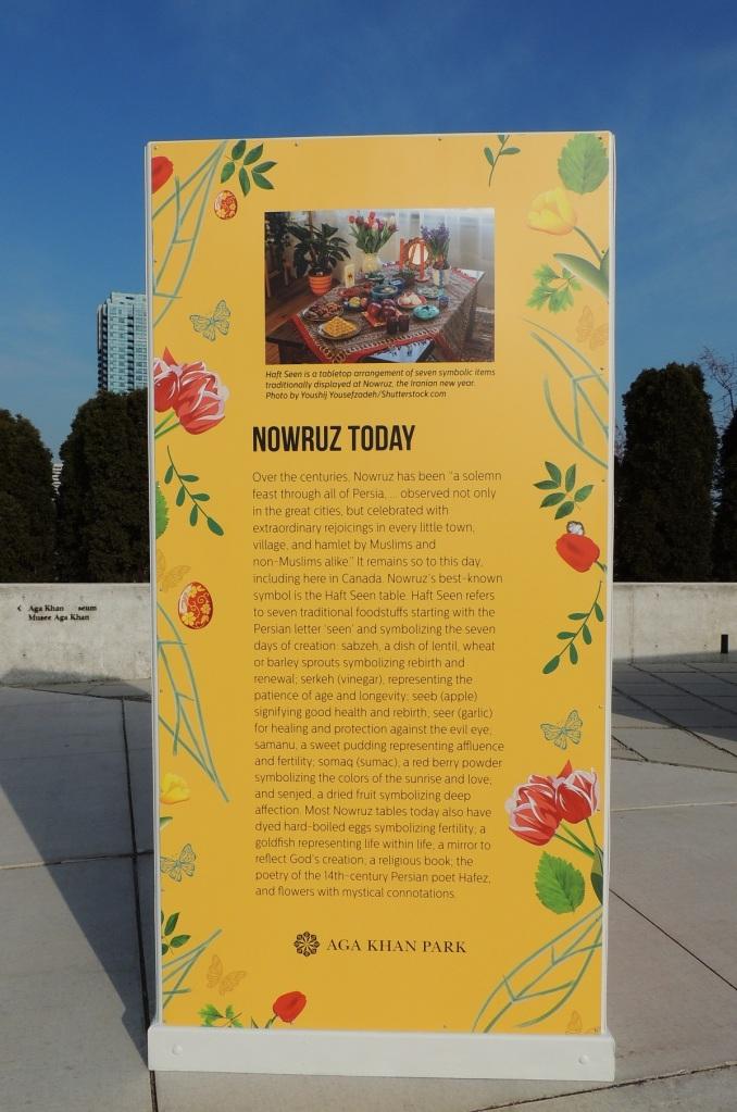 Nowruz today at aga khan park