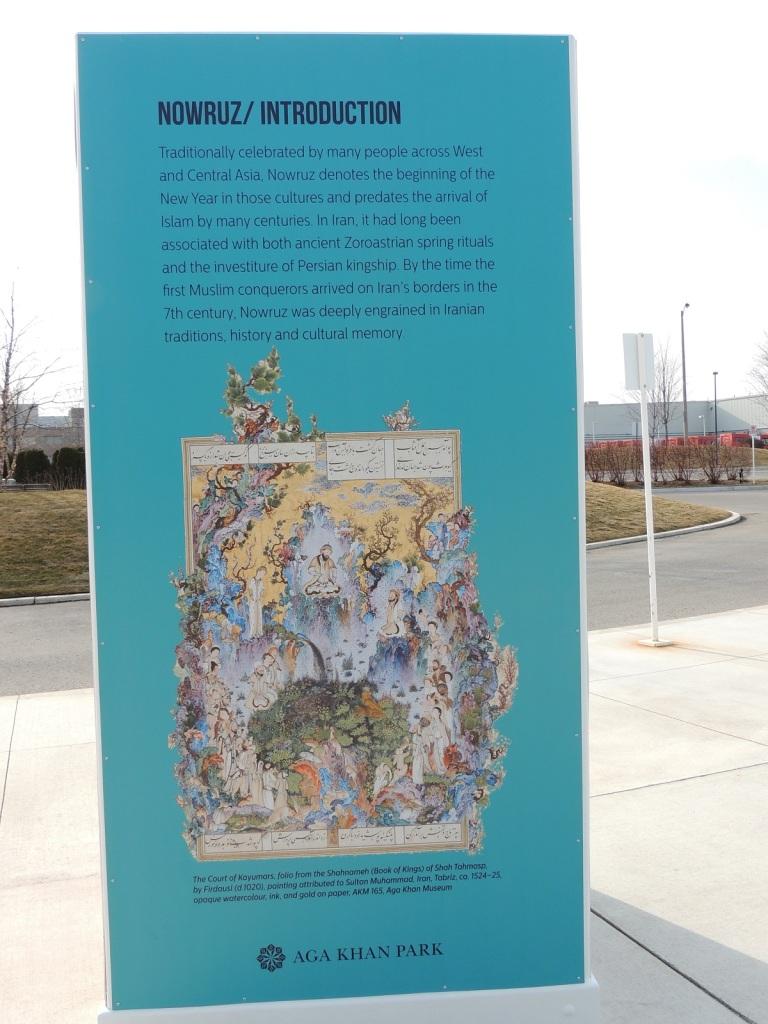 Nowruz introduction Aga Khan Park