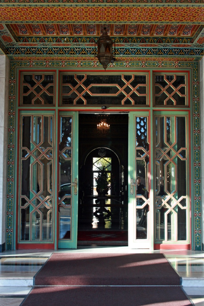 """Doors"" - Morocco, Spain and Portugal. Photo: © Late Shiraz Bandali/Bandali Family Collection, Edmonton. Simergphotos."