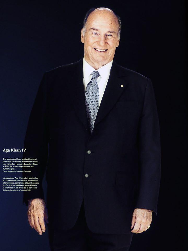 His Highness the Aga Khan, Honorary Canadian Citizen, Simerg photos.