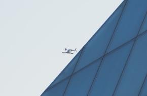 Drone at Aga Khan Park and Ismaili Jamatkhana